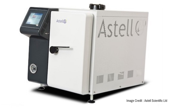 Closed door drying benchtop autoclaves launched by Astell Scientific