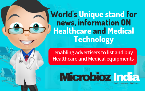 Microbioz India launched online platform for Hospitals and Medical equipments