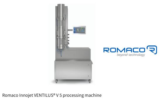 New microdosing machine for sterile powders