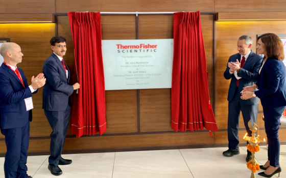Thermo Fisher Scientific Inaugurates New World Class Facility for Packaging and Distribution to Accelerate Clinical Trials Services in India