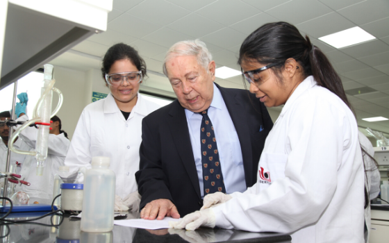 Cipla Foundation sets up a dedicated state-of-the-art chemistry laboratory at IISER Pune