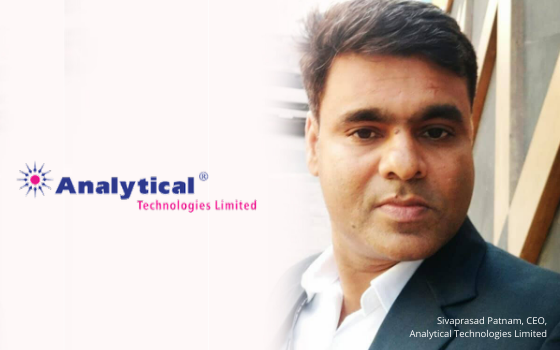 Sivaprasad Patnam explored new opportunity in the field of Analytical technologies