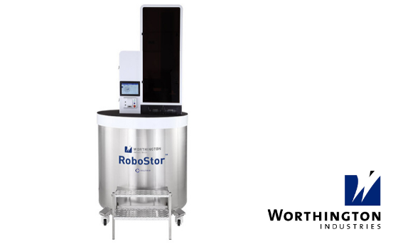 An automated cryogenic storage and retrieval system for sample storage and management