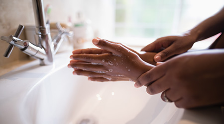 Is your hands are clean enough??