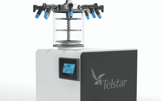 Telstar develops a new laboratory freeze dryer operating with natural gases