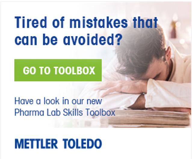 Mettler Toledo: Pharma Lab Skill Tool Box