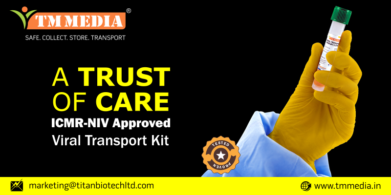 Titan Biotech Ltd gets validation from ICMR-NIV for COVID-19 Viral Transport Medium Kits