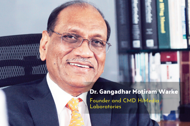 An Interview with Dr. Gangadhar Motiram Warke: Founder of HiMedia Laboratories