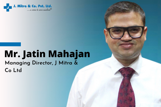 The corona outbreak has provided us with a unique opportunity: An interview with Mr. Jatin Mahajan, MD, J Mitra and Co.