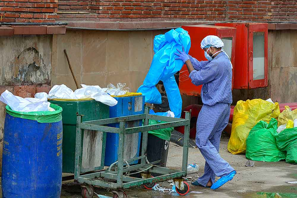 Disposed PPE could be transformed into biofuel, says Indian researchers