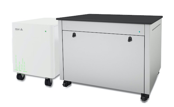 Peak Scientific presents new gas generator and bench solutions for the SCIEX 7500 LC-MS framework