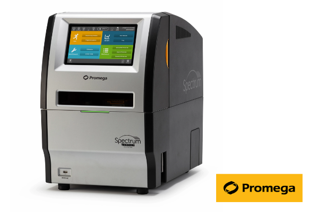 Spectrum Compact CE Benchtop DNA Analysis Instrument launched by Promega in collaboration with  Hitachi High-Tech