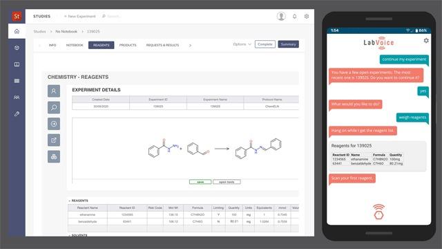 Dotmatics collaborates with LabVoice
