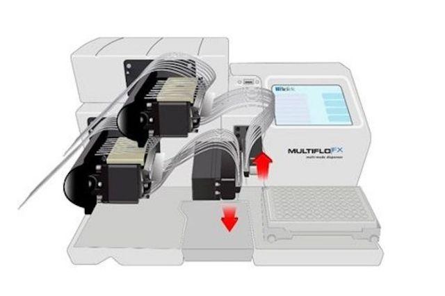 Biotek announced new patent grant for Automated Media Exchange (AMX) Module for the MultiFlo FX Multi-Mode Dispenser-