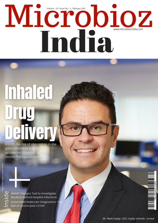 Inhaled drug delivery : February 2021 edition of magazine