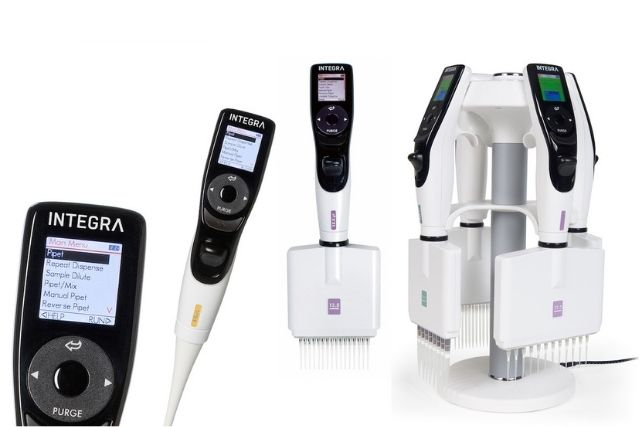 INTEGRA's VIAFLO electronic pipettes and VACUSAFE aspiration systems : Redefining stem cell research