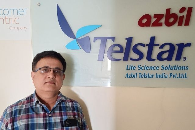 Dr Rajesh Shah has been appointed Country General Manager of Azbil Telstar's subsidiary in India