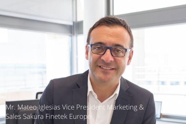 Mateo Iglesias Vice President Marketing & Sales Sakura Finetek Europe