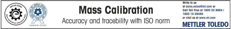 METTLER TOLEDO : Mass Calibration