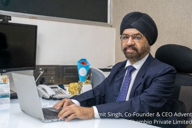 Amit Singh, Co-Founder & CEO at Advent Chembio Private Limited: Interview with Microbioz India